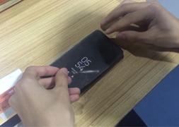 三星S8水凝膜贴膜视频